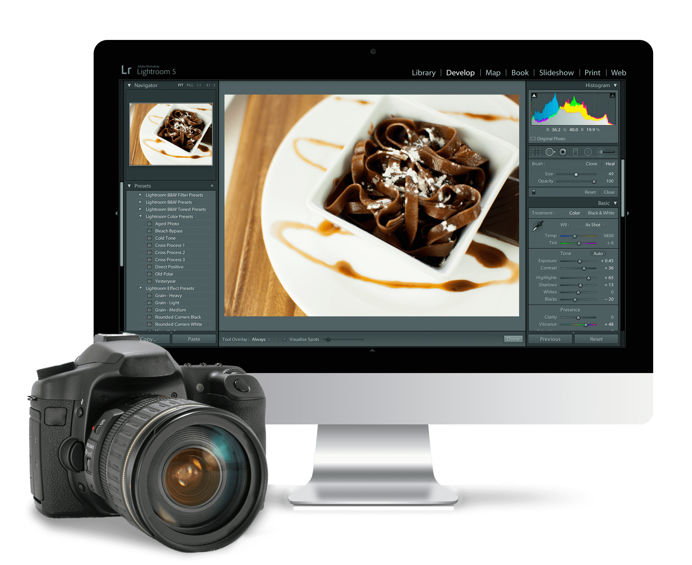 photography services graphic design