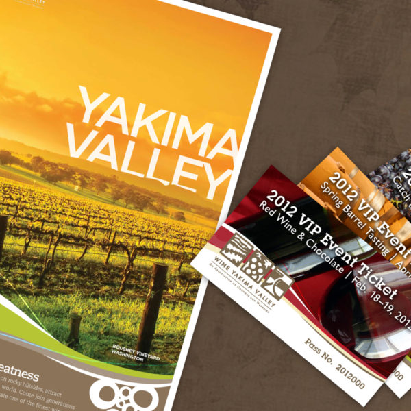 Wine Yakima Valley Poster and Tickets